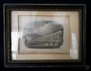 c1850-Hnd-Painted-Print-Inverness-Ter-Broadstairs-J-S-amp-Co-FREE-Delivery-UK