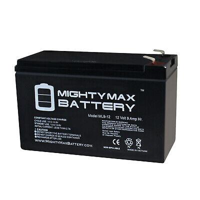 UPG 12V 9AH Battery for Garmin Fishfinder 90 GPS WITH CHARGER