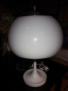 Détails sur Lampe champignon années 70, fabrication italienne, Guzzini