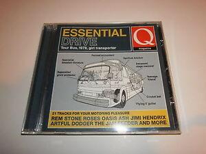 Various  Essential Drive Tour Bus 1978 Girl Transporter Q CD Stone Roses Ash - Preston, United Kingdom - Various  Essential Drive Tour Bus 1978 Girl Transporter Q CD Stone Roses Ash - Preston, United Kingdom