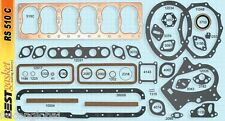 "Chrysler/Dodge 218 228 237 241 251 265 Full Gasket Set/Kit 37-68 BEST 25"" head"
