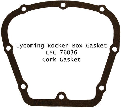 Lycoming Rocker Box Cork Gasket 76036