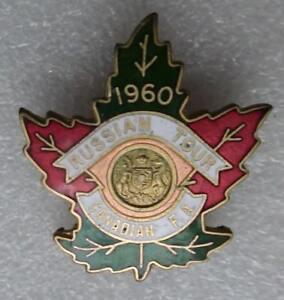 Original pin tour of Canada 1960 Zenit Leningrad