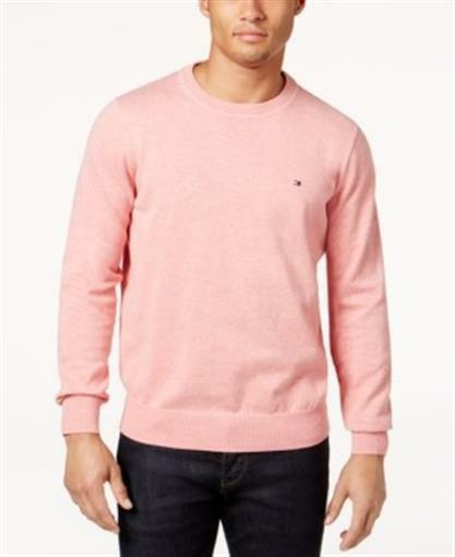 3f1b43ccb Tommy Hilfiger Signature Crew Neck Sweater Red Heather Mens XS for ...