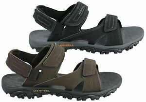 Merrell-Mens-Mojave-Sport-Sandals-Shoes-With-Adjustable-Straps-Lightweight