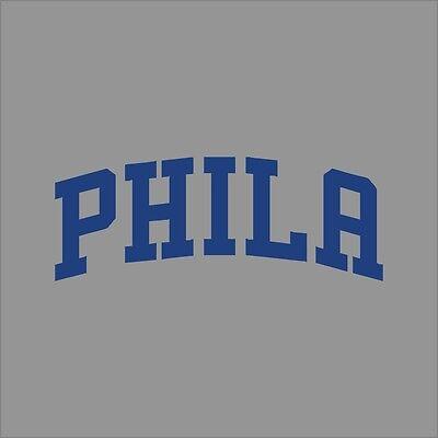 Philadelphia 76ers #8 NBA Team Logo Vinyl Decal Sticker Car Window Wall Cornhole
