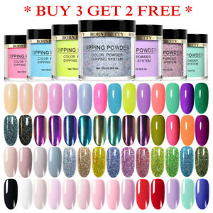 BORN-PRETTY-Holographic-Dipping-Powder-Chameleon-Nail-Art-Dip-Liquid-Starter-Kit