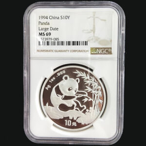 1994-China-panda-1oz-silver-coin-S10Y-Large-Date-NGC-MS69