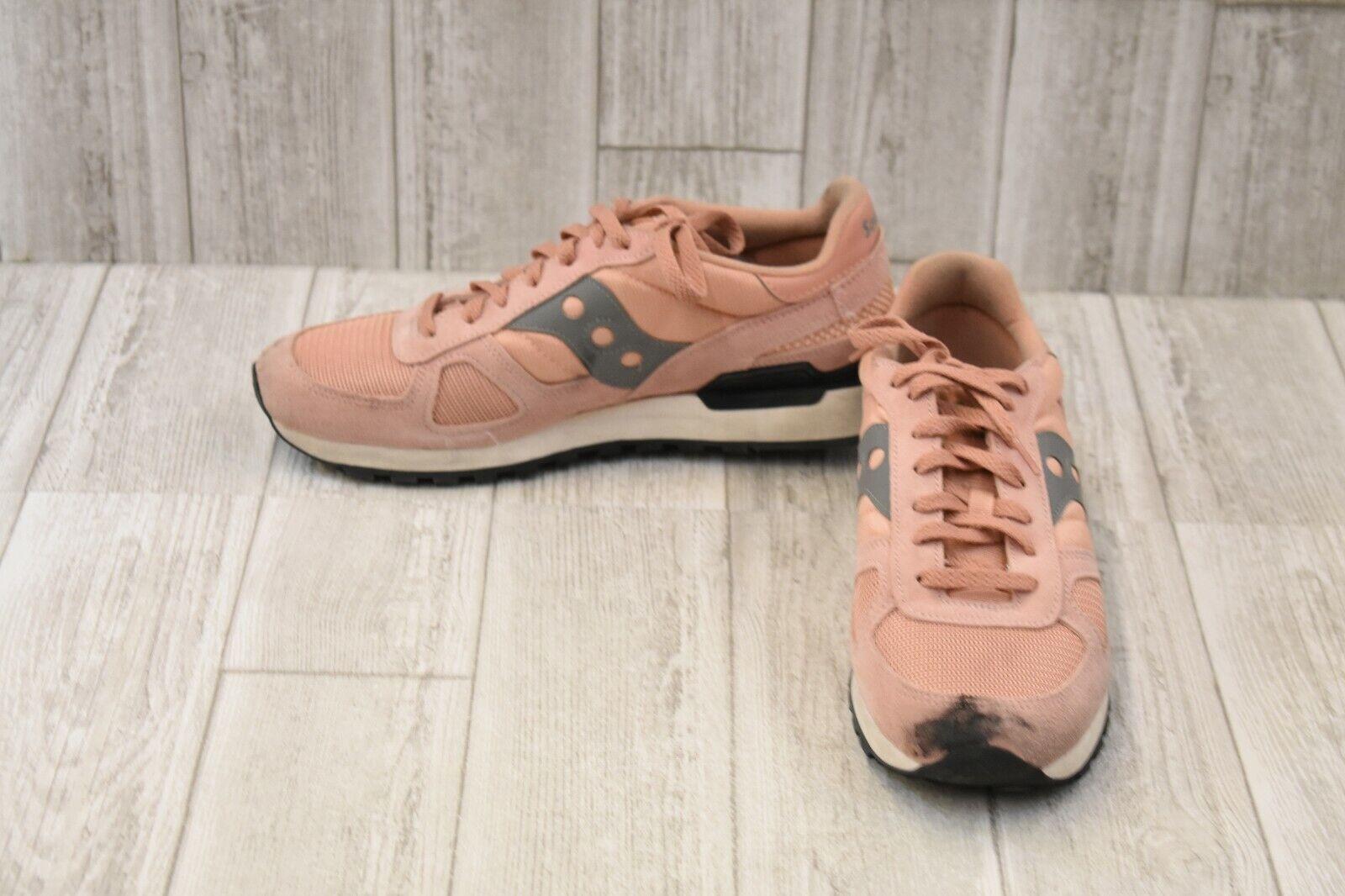 Saucony Shadow Original Running shoes, Men's Size 10.5, Pink Grey