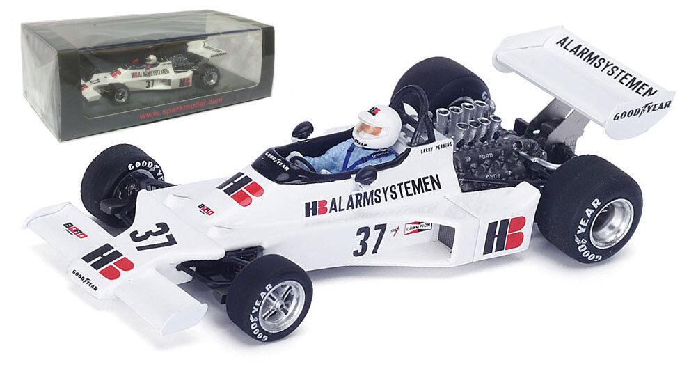 Spark S4800 Bgold 001 Belgium GP 1976 - Larry Perkins 1 43 Scale