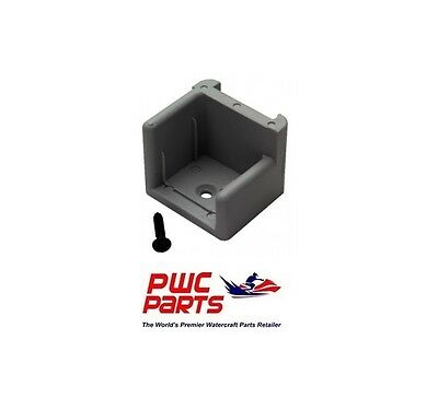 T-H Marine Anti-Rattle Pontoon Gate Door Stop DS-1L-DP LEFT Hinge With Ribs MD