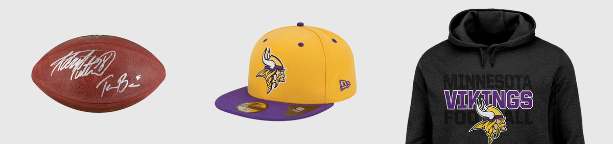 17b551d4ae5cc Minnesota Vikings NFL Fan Apparel   Souvenirs for sale