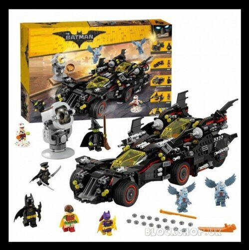 ULTIMATE 4 in 1 BATMOBILE set fits lego figure BATGIRL,ROBIN BATMAN MOVIE