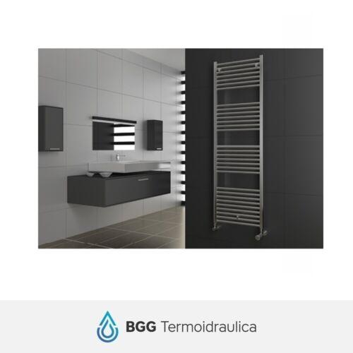 Termoarredo warming-towel cordivari Lisa 22 chrome straight and curved radiator