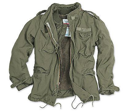 Surplus Regiment M65 Men's Jacket Parka Field Hooded Winter BW M-65