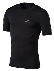 Pro-Touch-Men-039-s-Functional-Shirt-Compression-Shirt-short-Sleeve-Ss-Keene-Black