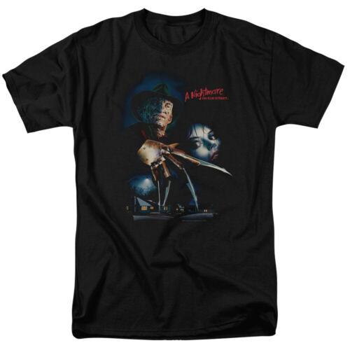 """A Nightmare On Elm Street /""""Elm Street Poster/"""" T-Shirt through 7X"""