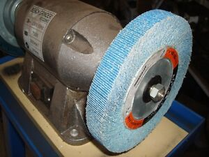 Flap Wheels For Bench Grinder 180mm X 25mm Za Material Ebay