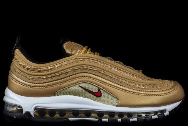 Nike Air Max 97 OG QS Metallic Gold Size 10 Mens 884421 700
