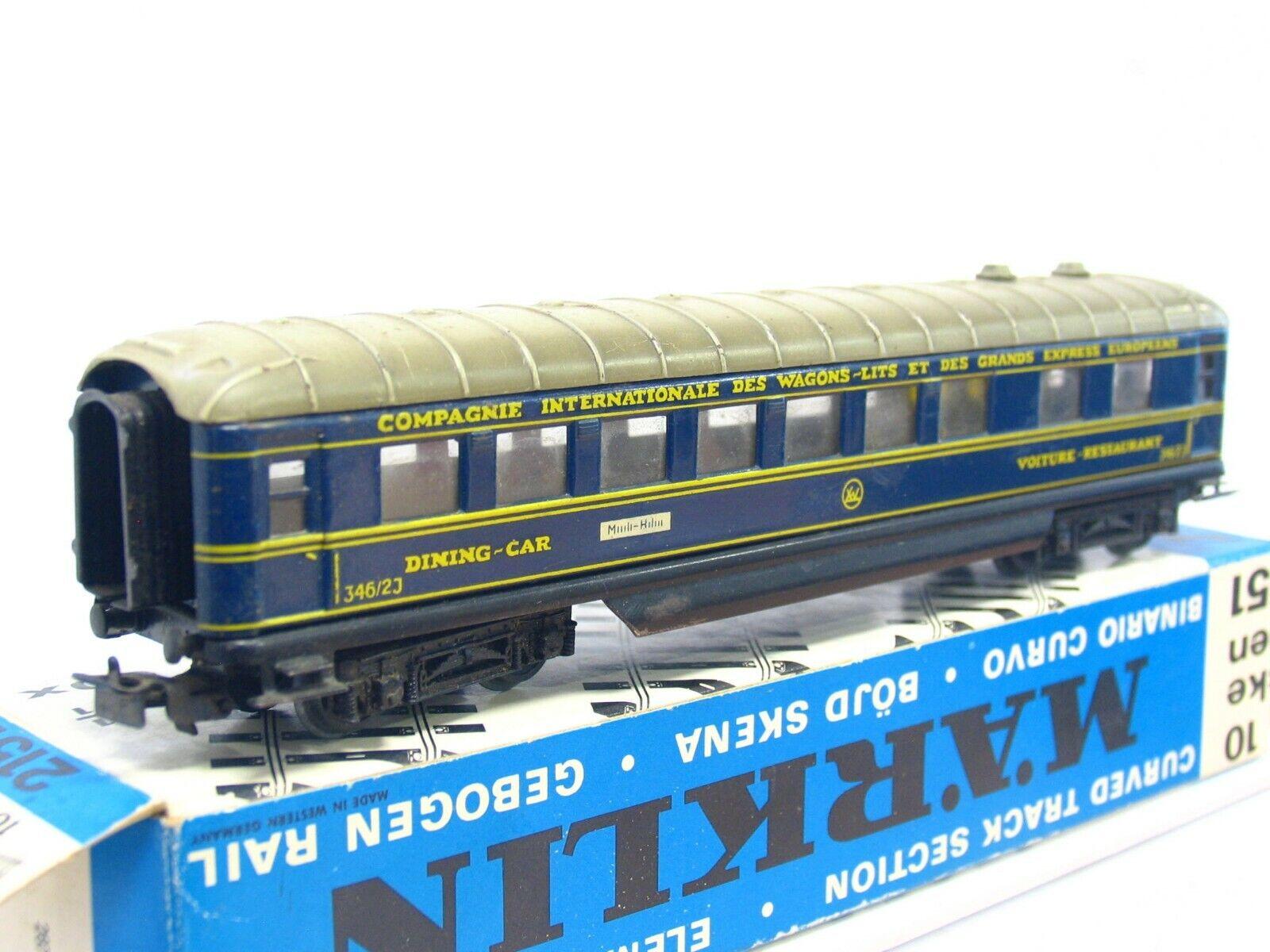 Märklin H0 4009 346 2 J Dining Car CIWL VP (RB7438)