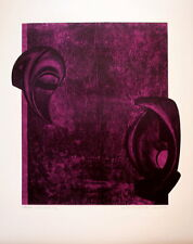 Horst Egon KALINOWSKI (1924) Lithographie Signée & Justifiée Abstraction lyrique