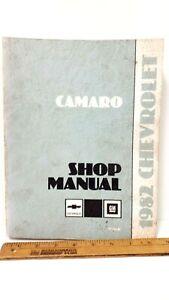 1982-CHEVROLET-Camaro-Original-Shop-Manual-Very-Good-Condition-US