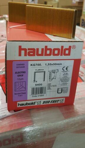 Haubold Klammern KG 750 Prebena Z mit Bauzulassung 5400 St je Paket