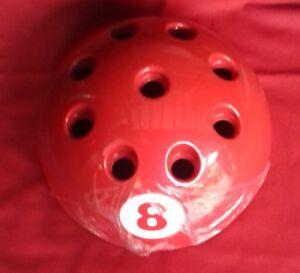 NEW CIRCULAR GIANT RED BALL CUE RACK STAND SNOOKER BILLIARD POOL - Circular pool table