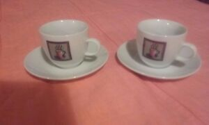 2-x-white-printed-china-tea-coffee-cups-and-saucers-kitchen-dining-home