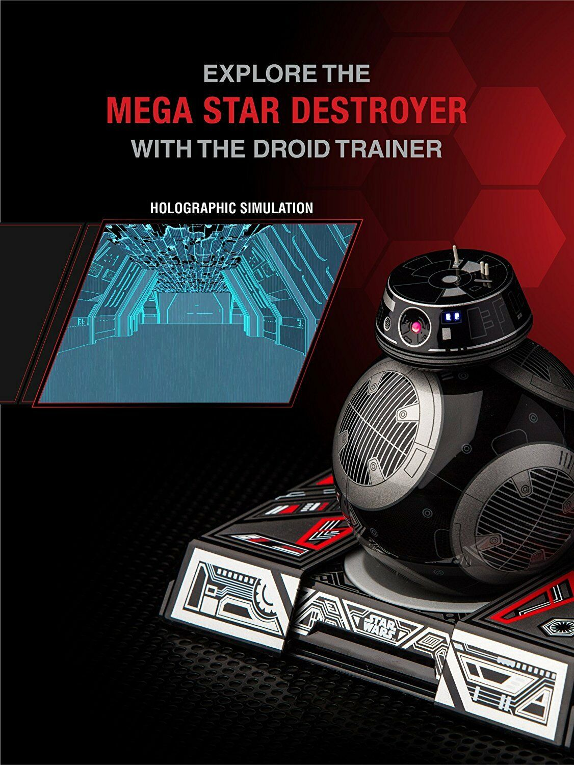 Sphero Star Wars BB-9E App-Enabled Droid with Trainer Droid Brand New and Boxed