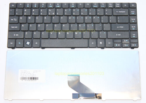 BRAND NEW KEYBOARD FOR ACER ASPIRE 4736Z SERIES MATTE BLACK