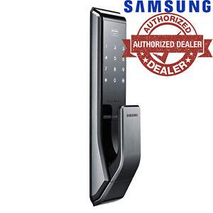 USED SAMSUNG SHP-DS510 adjustable latch Digital Door Lock US ENGLISH VERSION