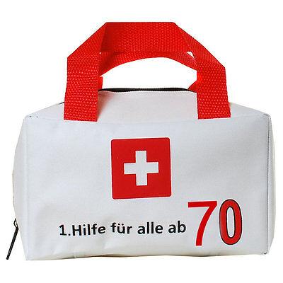 Hilfe 70 Geburtstag Tasche Geschenkverpackung Witzige Geschenke  Scherzartikel