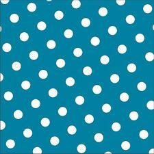 360 Servietten 3-lagig 1/4-Falz 33 x 33cm braun Dots Party Punkte Dekoservietten