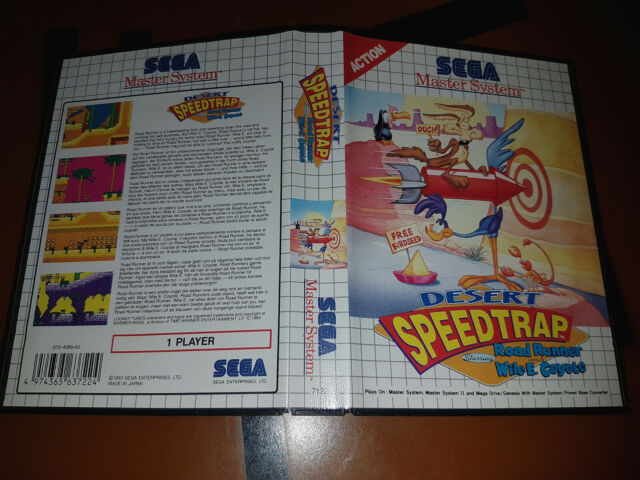 ## Sega Maestro Sistema - Desert Speedtrap Starring Road Runner - Top / Ms Juego