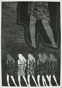 034-Media-Tic-Operating-034-Artist-And-Signature-IN-Determine-37-100-Art-Modern-1977