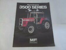 Massey Ferguson Models Mf 3545 3525 3505 Tractors Brochure