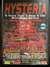 Hysteria volume 26 Drum n Bass 6x CD pack. Rare classic volume