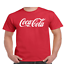 Coke-Coca-Cola-Logo-T-Shirt thumbnail 1