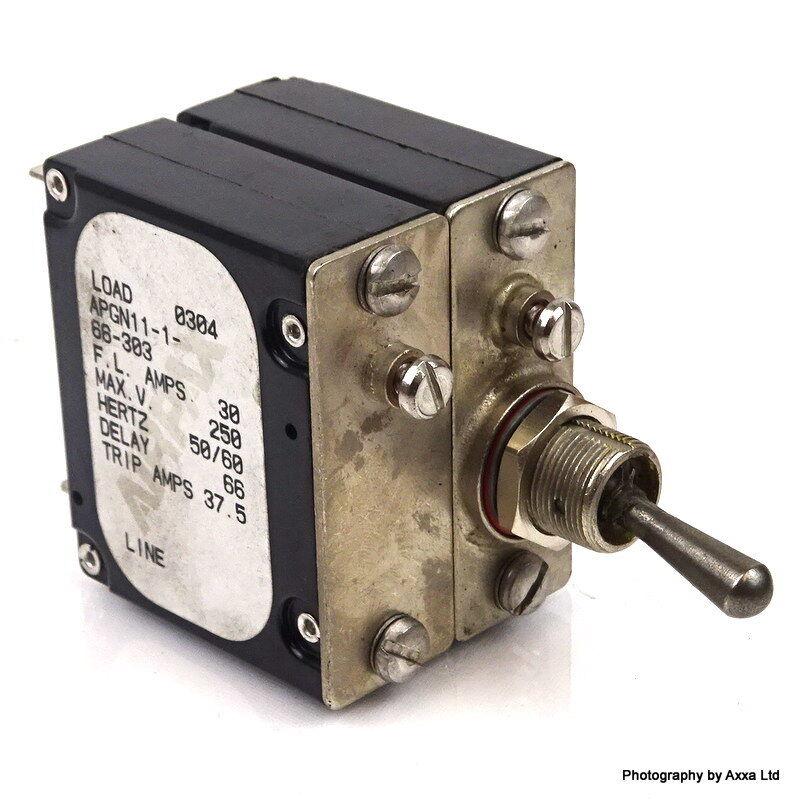 Circuit Breaker APGN11-1-66-303 Airpax F.L Amps 30A  APGN11166303 New