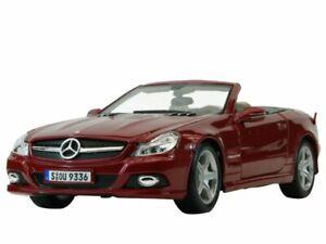 MB Mercedes Benz SL 550 - redmetallic - Maisto 1:18