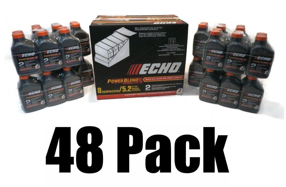 (48) Aceite de Eco 5.2 OZ (approx. 147.41 g) Botellas Para Cadena Motosierra Soplador De Hojas De Hierba Cortasetos