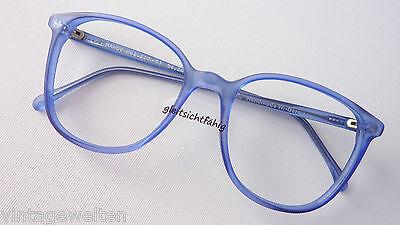Brille Axel S. Handmade Hippiebrille Pantoform Brillenfassung Meerblau Grösse M