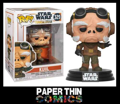 Vinyl Figure Official Merchandise Star Wars les Mandaloriens kuiil FUNKO POP