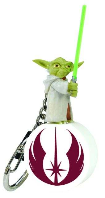 Star Wars ANAKIN SKYWALKER Keychain Keyring Clone Jedi Force Retired Lucas S1