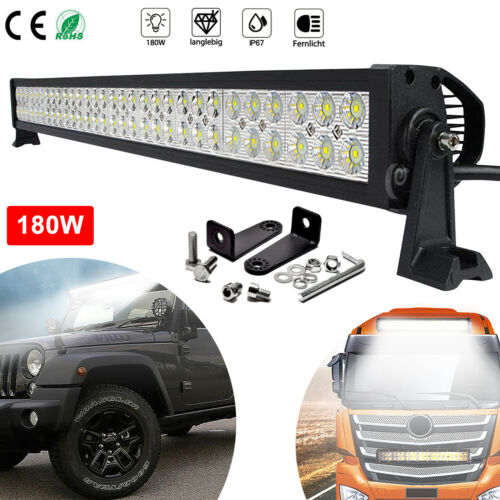LED Arbeitsscheinwerfer 180W Scheinwerfer Offroad Worklight Floodlight SUV IP67