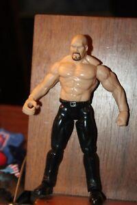 Stone Cold Steve Austin WWF Action figure 1998 Jakks Pacific WWE SCSA NICE WCW