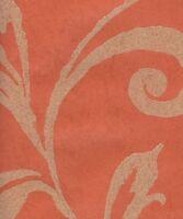 Wallpaper Designer Sand Texture Orange Beige Modern