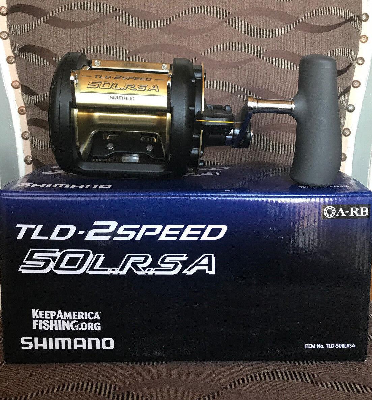 Shimano TLD 50 lrsa 2-Speed Multi Rol