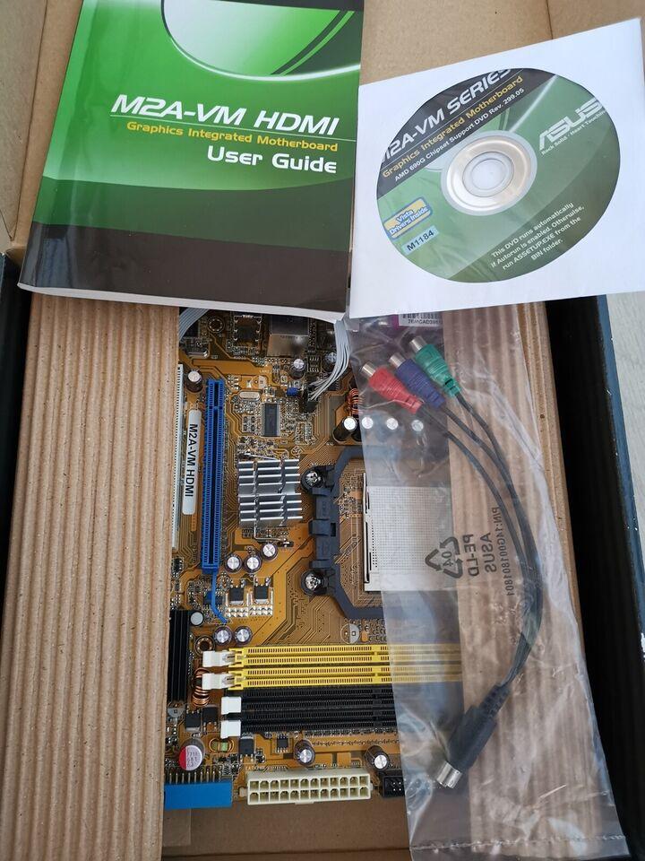 Motherboard, ASUS, M2A-VM HDMI